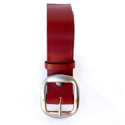 ceinture 4cm en cuir véritable.