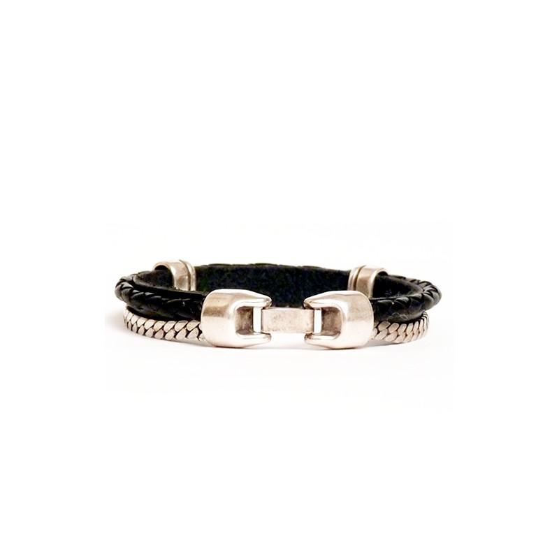 Bracelet en cuir de luxe