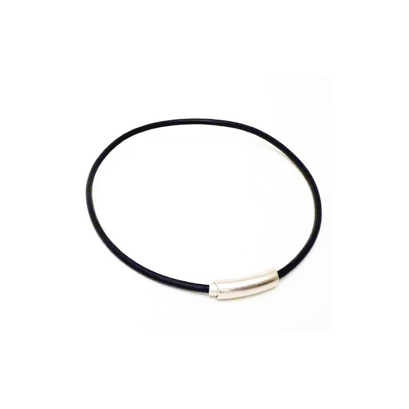 Bracelet et collier en cuir pour homme