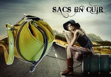 Sacs cuir, créateur de sac en cuir rock punk tos stlyle de sact en cuir, fabrication artisanale de s