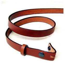 ceinture 3cm en cuir véritable.